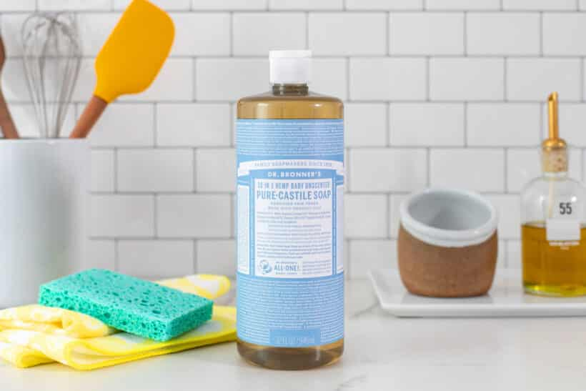 Castile Soap and Water