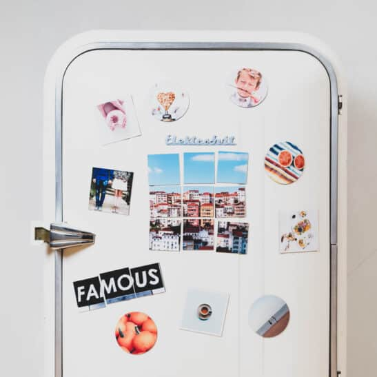 Create beautiful fridge magnets from your memories and keep them in sight not only in the kitchen.https://www.squared.one/category/photo-magnets