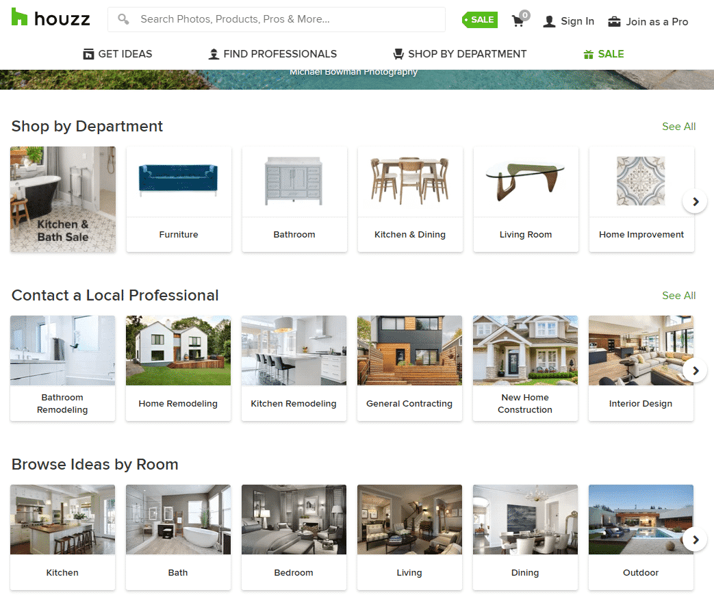 Houzz – Home Renovation