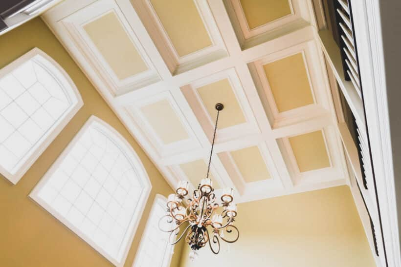 The coffered Ceilings