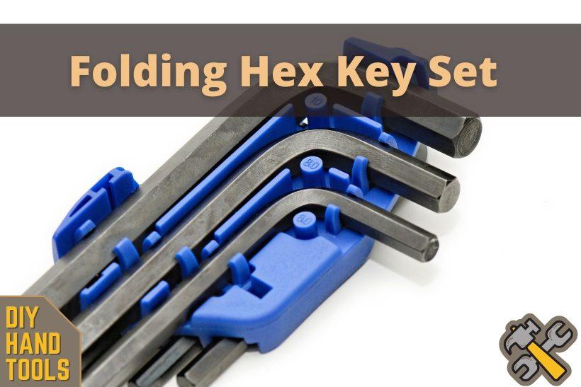 How to Use a Folding Hex Key Set Correctly (Hand Tools DIY)