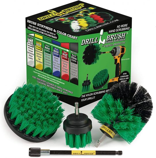 Household Cleaners - Drill Brush