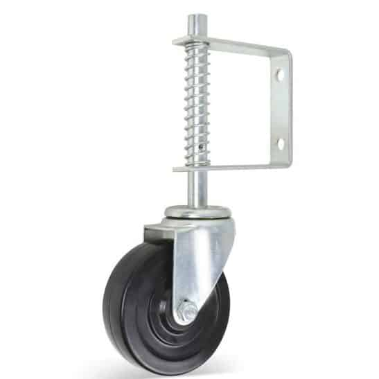 Leffis Fence Gate 4 Inch Wheel Casters