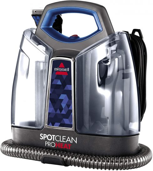 Portable Spot & Stain Carpet Cleaning By Bissell Proheat Spot clean