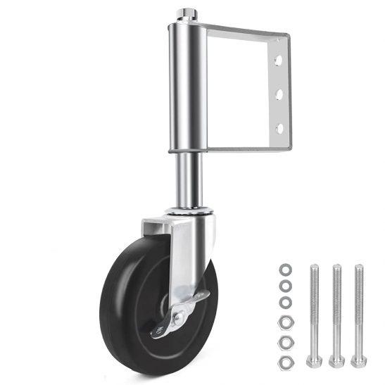 Solejazz Spring-loaded Hard Caster Gate Wheel