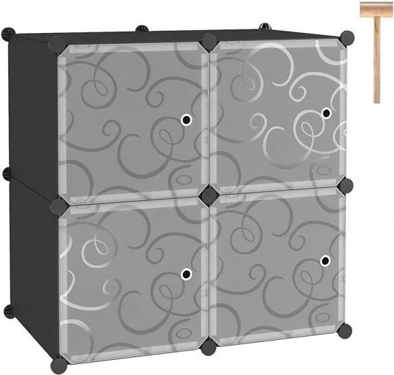 C&AHOME Modular Cube Shelving Storage