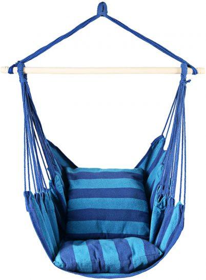 Hanging Single Hammock Chair Swing Sitting Chair