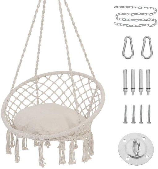 Patio Watcher Hanging Hammock Swing Chair