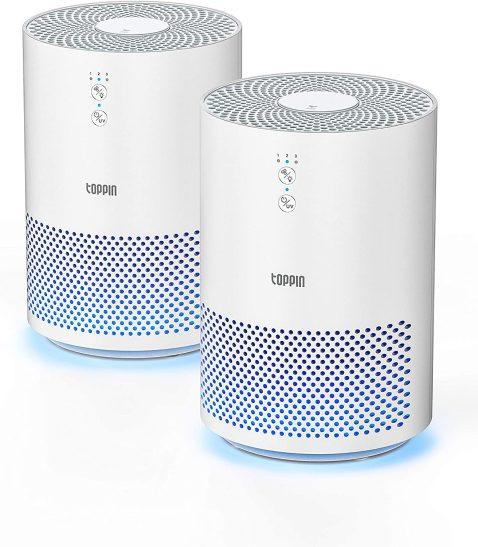TOPPIN HEPA UV Light Air Purifiers
