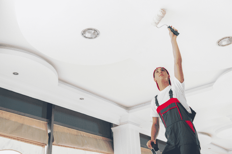 Painting A Ceiling: A Step-By-Step Guide