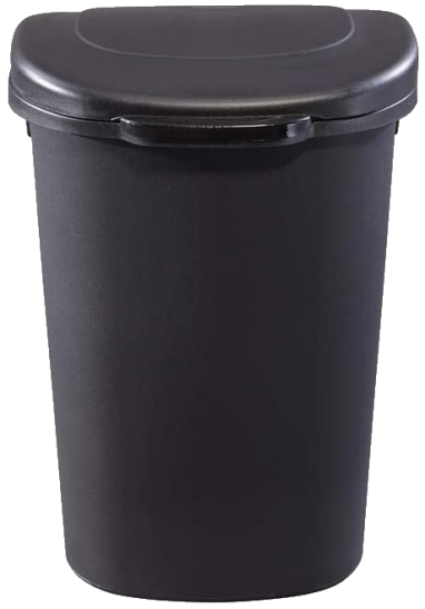 Rubbermaid Trash Can with Touchscreen Top Lid for Household