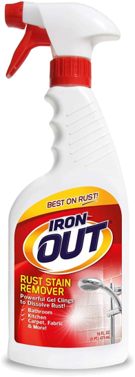 Rusty Rust Removal Spray Gel by Iron OUT