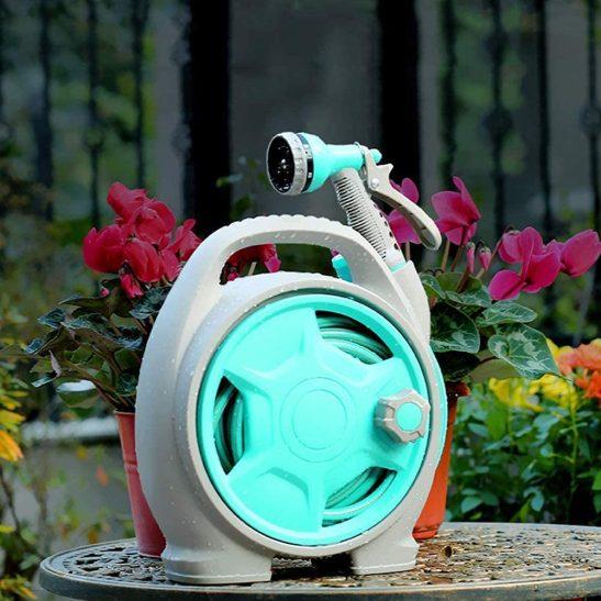 VUE Retractable Portable Garden 50 FT Hose Reel